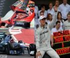 Michael Schumacher si ritirò dalla F1 nel GP del Brasile 2012