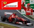 Felipe Massa - Ferrari - Gran Premio del Brasile 2012, 3 ° classificato