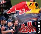 Red Bull Racing Campione del Mondo di Costruttori FIA 2012