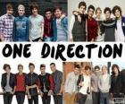 I 5 membri del gruppo One Direction