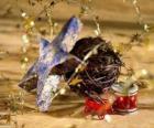 Diversi ornamenti di Natale