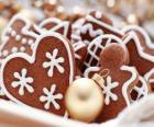 Biscotti di Natale in una varietà di forme