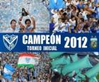 Vélez Sarsfield, campione del Torneo Inicial 2012, Argentina