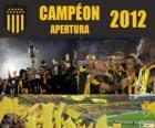 Club Atlético Peñarol campione del Torneo Apertura 2012, Uruguay