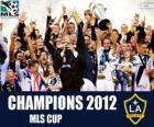 Il Los Angeles Galaxy, campione della MLS Cup 2012
