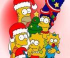 I Simpson si desidera Buon Natale