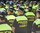 Polizia municipale, madrid