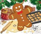 Biscotto decorato dell'Omino di pan di zenzero