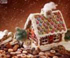 Dolce e grazioso casa di marzapane