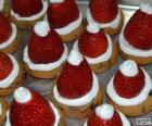 Cappelli di Babbo Natale delizioso