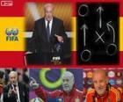 Vicente del Bosque FIFA 2012 di allenatore di calcio maschile