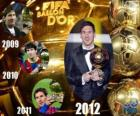 Lionel Messi, Golden Ball FIFA 2012