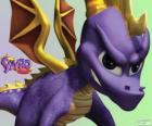 Il giovane drago Spyro, protagonista principale di videogiochi Spyro the Dragon