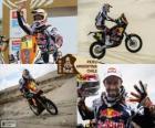 Cyril Despres campione in moto Dakar 2013