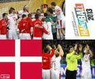 Danimarca alla medaglia d'argento Coppa del mondo di pallamano 2013
