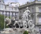 Fontana di Cibeles, Madrid, Spagna
