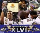 Baltimore Ravens Campioni Super Bowl 2013