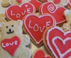 Biscotti per celebrare il giorno di San Valentino