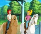 Bibi e Tina, due ragazze molto appassionate di cavalli