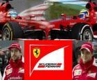 Scuderia Ferrari 2013, Fernando Alonso e Felipe Massa