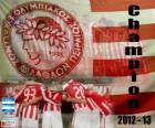 Olympiacos Pireo, campione Super League 2012-2013