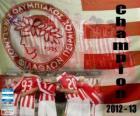 Olympiacos Pireo, campione Super League 2012-2013