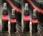 Bottiglie originale di Coca-Cola