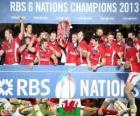 Gallese campione del Sei Nazioni 2013