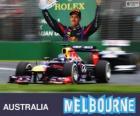 Sebastian Vettel - Red Bull - Gran Premio d'Australia 2013, 3 ° classificato