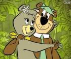 Yoghi e Cindy, due amanti orsi nel parco di Jellystone