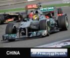 Lewis Hamilton - Mercedes - Gran Premio della Cina 2013, 3 ° classificato