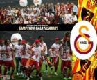 Galatasaray, campione Super Lig 2012-2013, campionato di calcio de Turchia