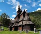 Stavkirke di Borgund, Norvegia
