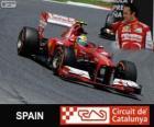 Felipe Massa - Ferrari - Gran Premio di Spagna 2013, 3 ° classificato