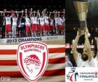 Olympiacos Pireo, campione di Euroleague Basketball 2013