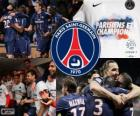 Paris Saint Germain, PSG, campione Ligue 1 2012-2013, campionato di calcio da Francia