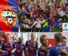 CSKA Mosca, campione del campionato di calcio russo, Prima Lega 2012-2013
