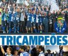 Porto, campione dell campionato di calcio portoghese 2012-2013, a prima divisione nazionale