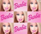 Collage di Barbie