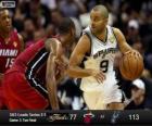 2013 NBA Finals, 3rd gioco, Miami Heat 77-San Antonio Spurs 113