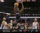 2013 NBA Finals, 4 partit, Miami Heat 109 - San Antonio Spurs 93