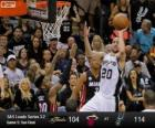 2013 NBA Finals, 5 partito, Miami Heat 104 - San Antonio Spurs 114
