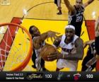 2013 NBA Finals, 6 partito, San Antonio Spurs 100 - Miami Heat 103