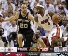 2013 NBA Finals, 7 partito, San Antonio Spurs 88 - Miami Heat 95