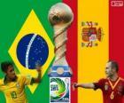 Finale Copa Confederacions 2013, Brasile vs Spagna