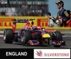 Mark Webber - Red Bull - Gran Premi de Gran Bretanya 2013, 2º classificato