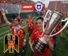 Unión Española, campione del Torneo de Transición 2013, Cile