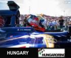 Jean-Eric Vergne - Toro Rosso - Hungaroring, 2013