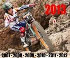 Toni Bou campione del mondo trial 2013