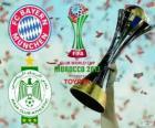 Bayern Monaco vs Raja Casablanca. Finale de Coppa del mondo per club FIFA 2013 Marocco